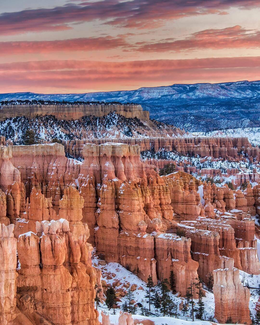 Unclear where the sunset starts and Bryce Canyon ends buthellip